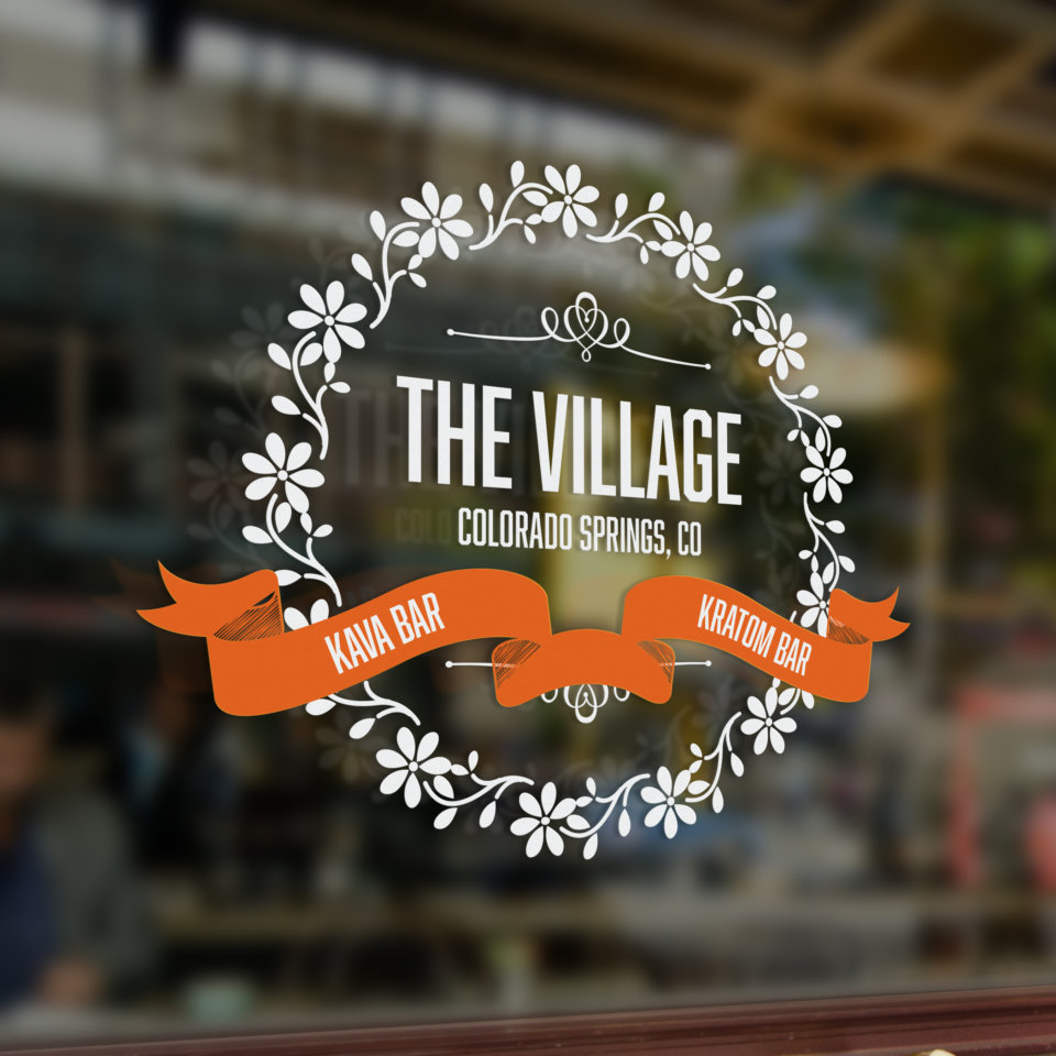 the village logo square