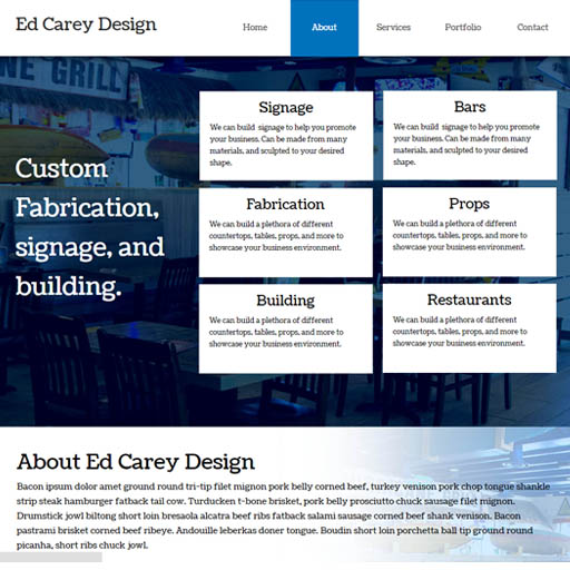 ed carey website design boynton beach